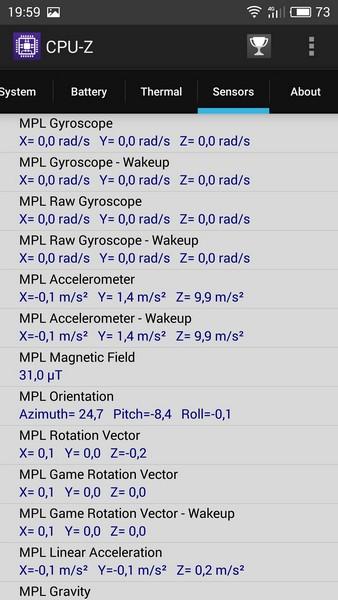 Meizu M3 Note Review - CPU-Z 6
