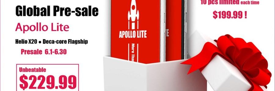 Vernee Apollo Lite — предзаказ и скидка $30 в TomTop