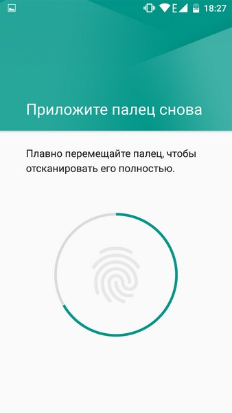 Elephone M3 Review - Fingerprint