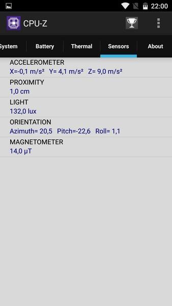 Elephone M3 Review - CPU-Z 6