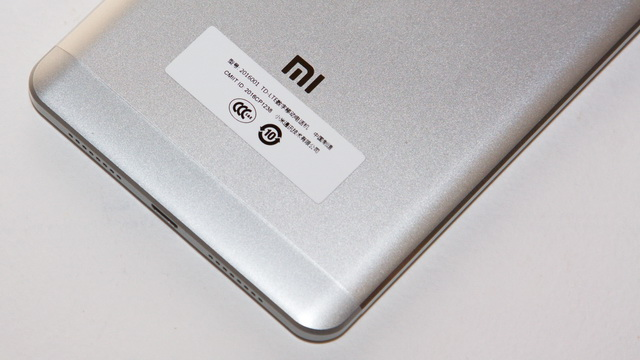 Xiaomi Mi Max Review - Down back side