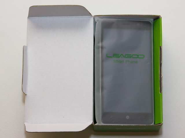 Leagoo M5 Review - In box