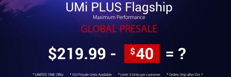 UMi Plus — распродажа в GearBest за $179.99