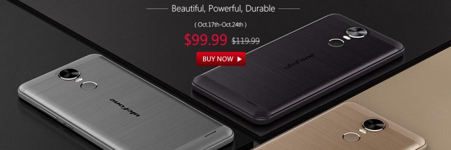 Ulefone Tiger — предзаказ за $99.99 в GearBest