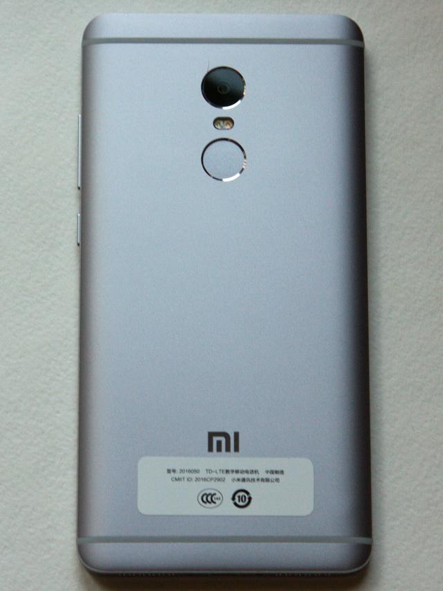 Xiaomi Redmi Note 4 Review - Back