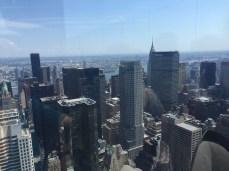 Manhattan Vista from Rockefeller Center