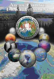 cover of Arctic Climate Impact book