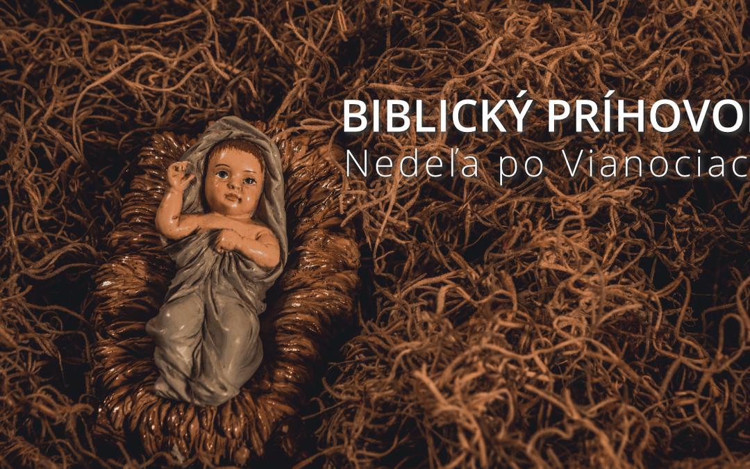 Biblický príhovor – Nedeľa po Vianociach