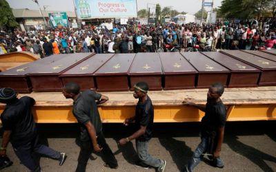 Zabíjanie kresťanov v Nigérii