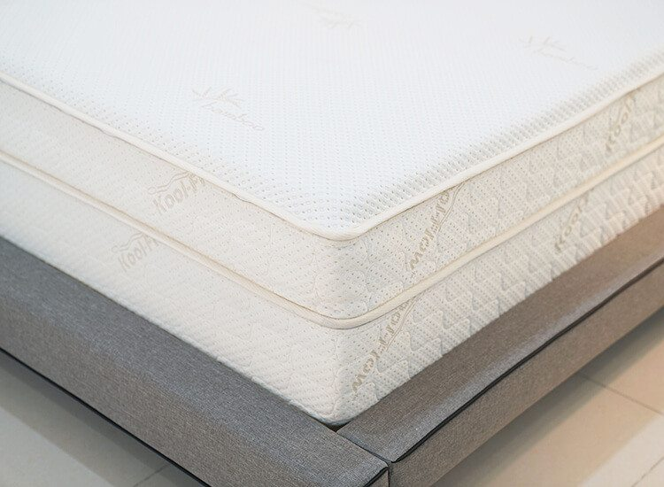 Air-Pedic Mattress Review corner bed view