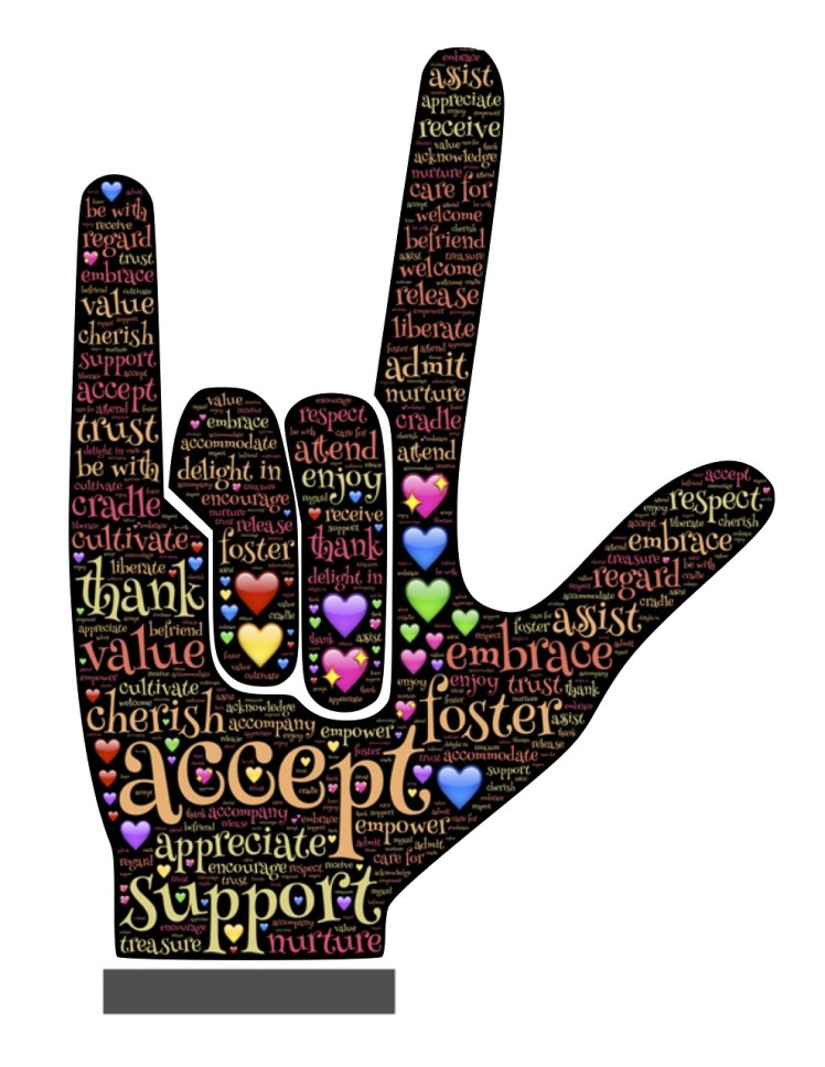 Sign Language: Love and acceptance