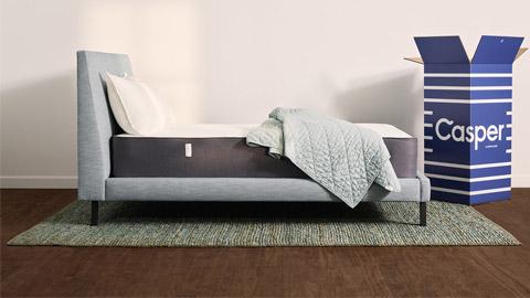 Casper mattress review, Casper mattress with box