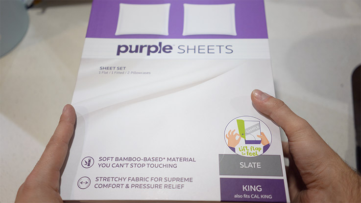 Purple sheets sizes available