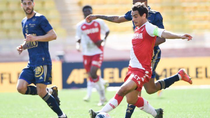 Monaco victorieux face à Brest (2-0)
