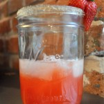 Infused Strawberry Vodka Lemonade