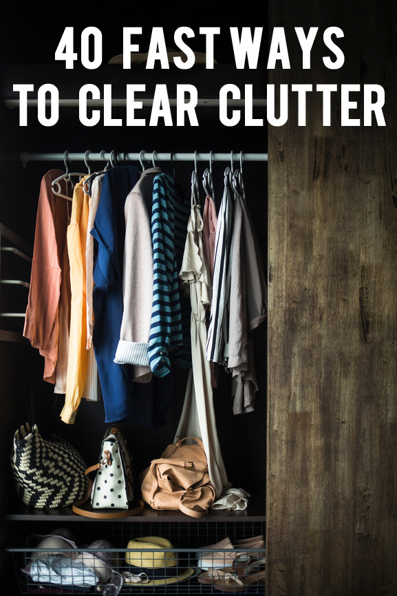 Fast Ways to Clear Clutter
