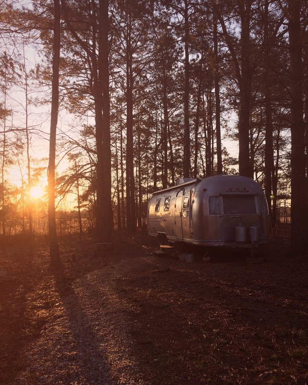 Sunrise at the Airstream