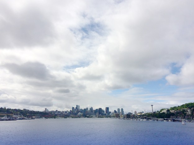 The view from Gas Works Park, Seattle.