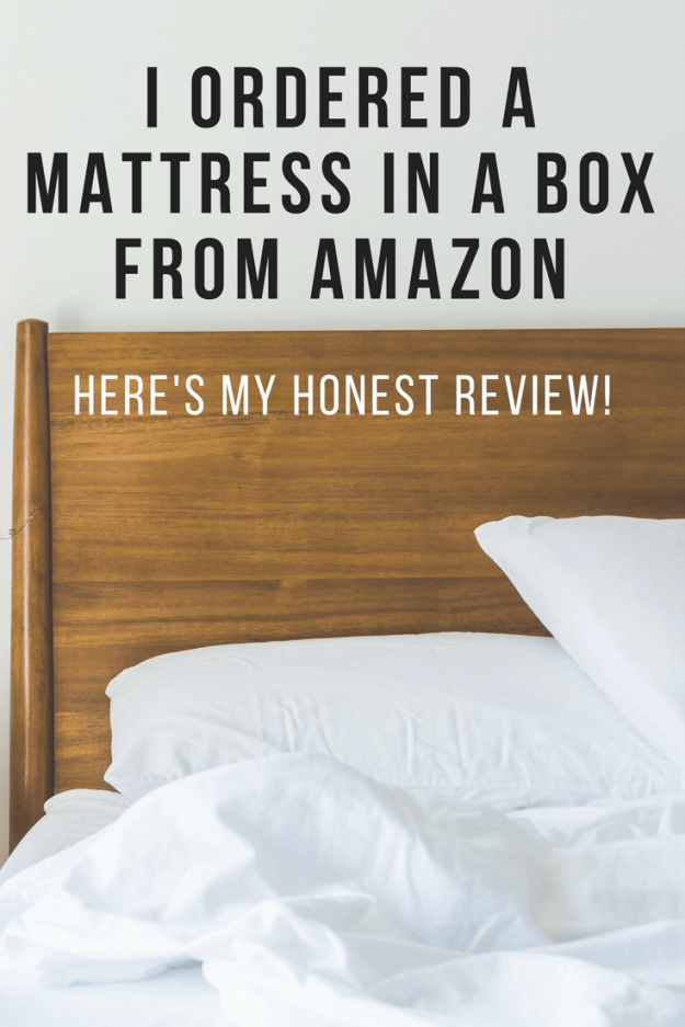 a mattress in a box from amazon reviewed - Mattress In A Box