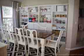 Dining Room Makeover Featuring Ikea Faux Built Ins A Small