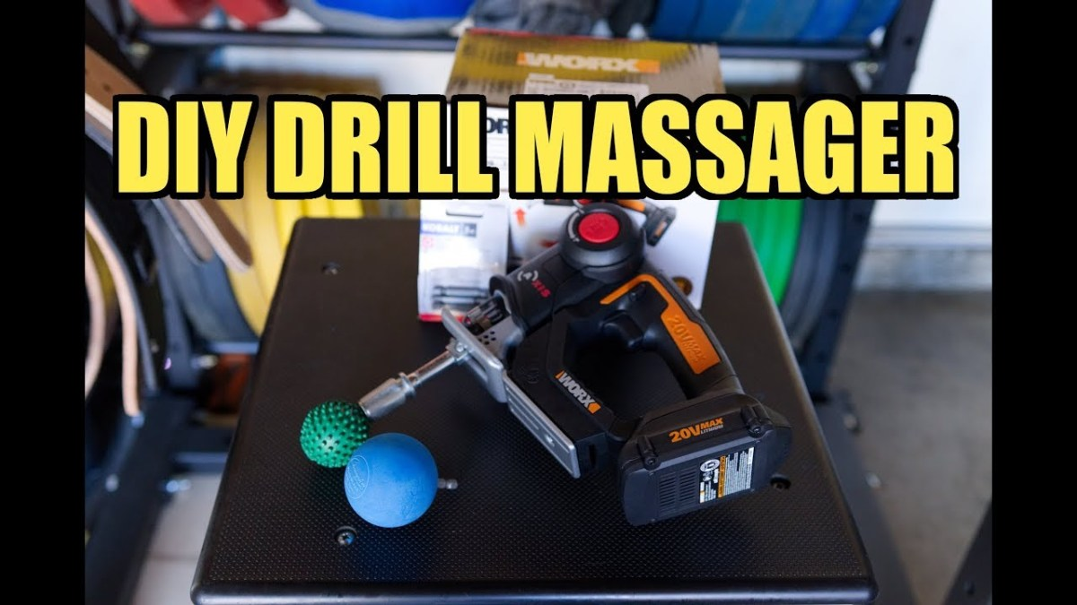 "DIY JigSaw ""Drill"" Massager - Percussion Massager"