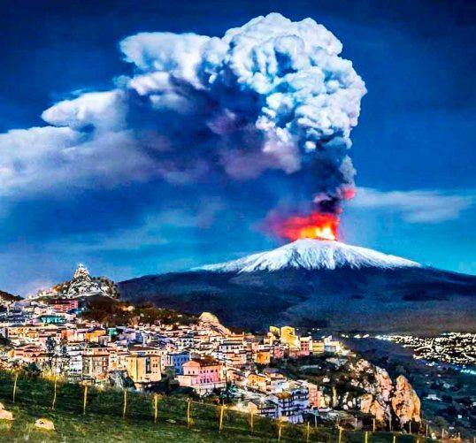 Que ver en Sicilia Volcan Etna