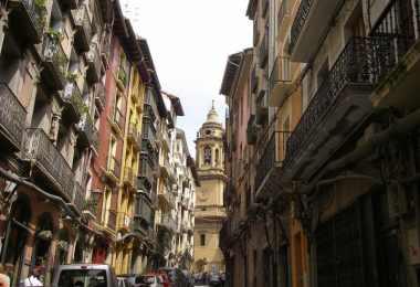 Casco viejo Pamplona