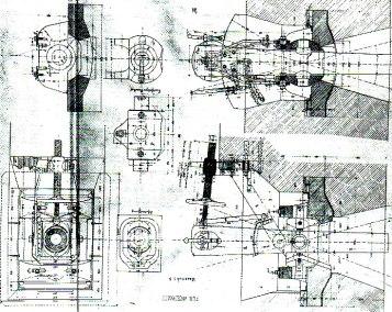 3. Affût de caponnière pour canon de 84 cm 1871 raccourc