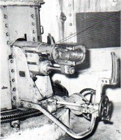 Canon de 7,5 1903 sur affût de casemate, recul court, Dailly