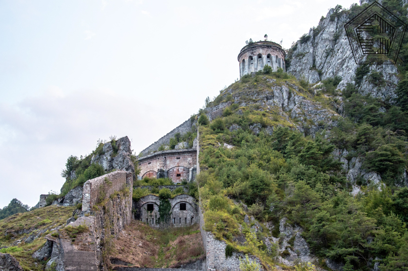 Rocca d'Anfo – La plus belle des forteresses d'Europe