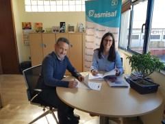 Firma Convenio Fundación Mapfre