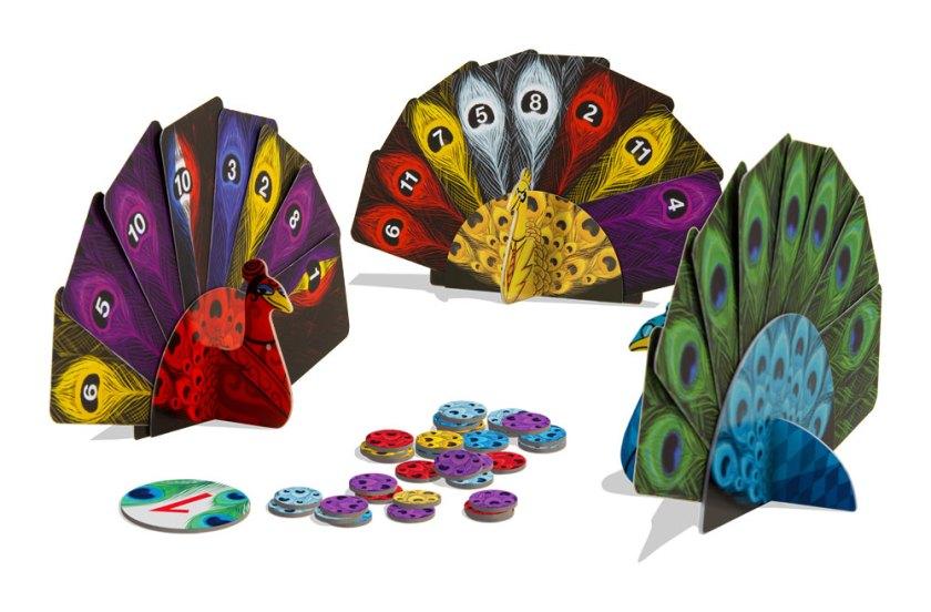 Pikoko Kartenspiel Pfau