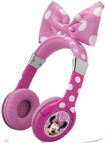 Minnie Mouse headphones