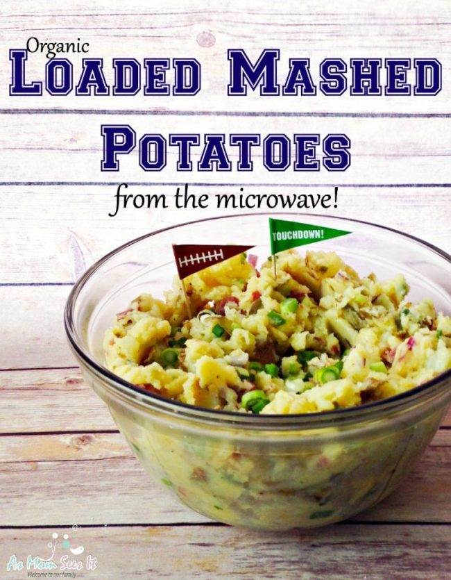 organic loaded mashed potatoes