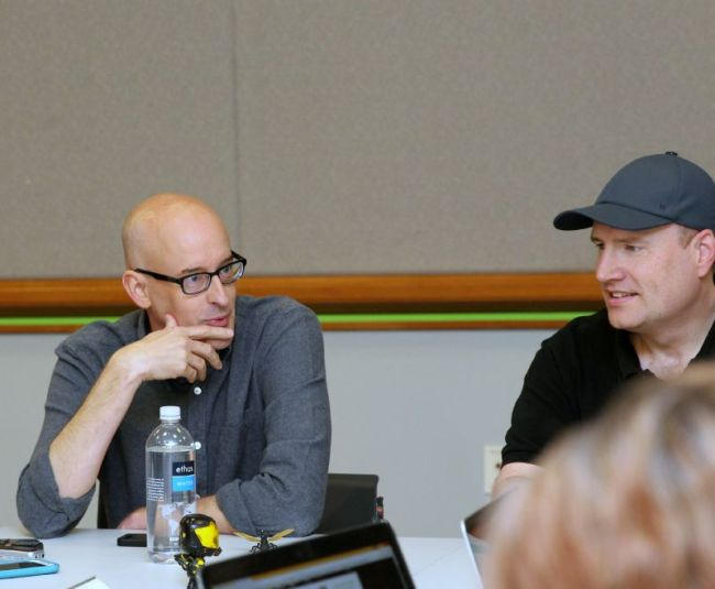 Peyton Reed and Kevin Feige interview about Ant-Man