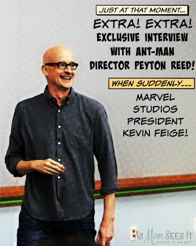 Peyton Reed interview about Ant-Man with Kevin Feige