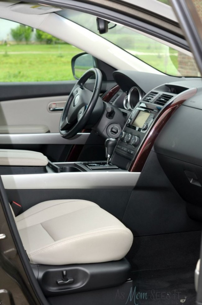CX-9 Review Interior