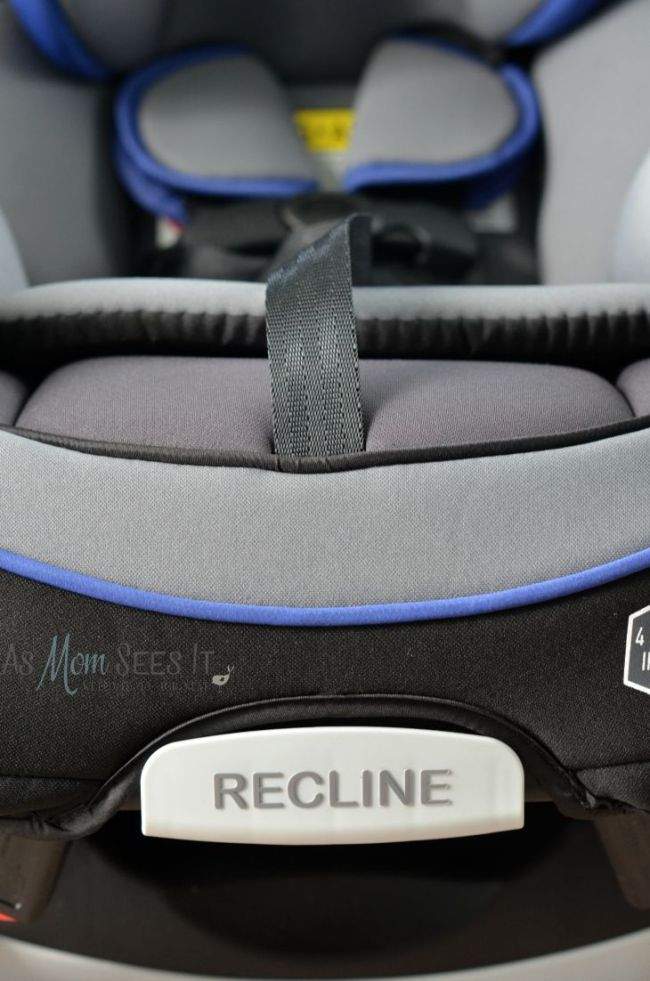 Graco Carseat Recline front