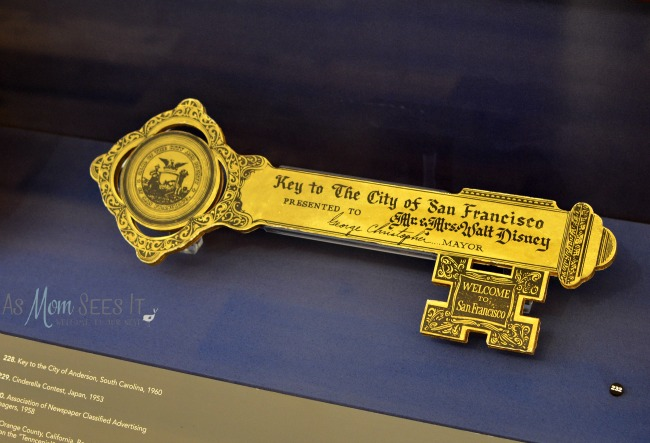 Disney Family Museum Key To The City