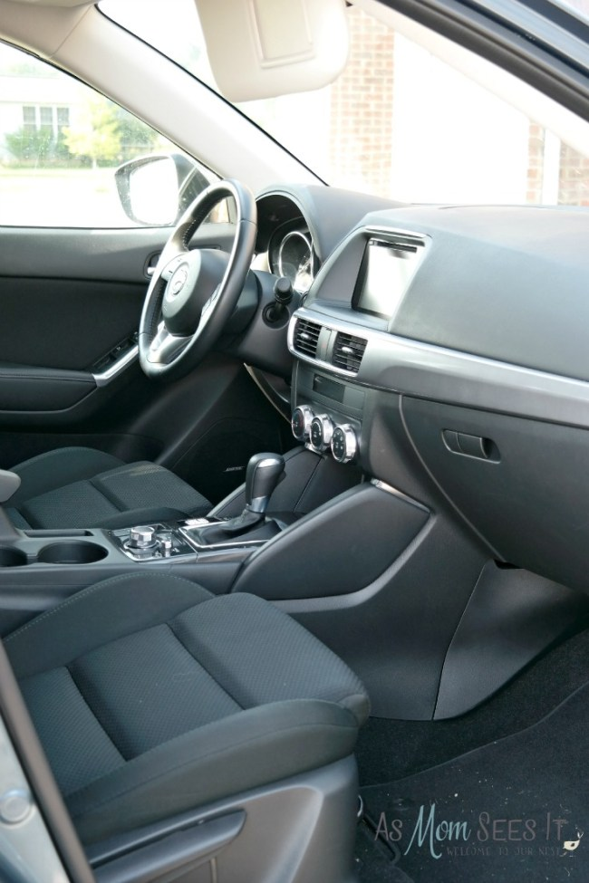 Mazda CX-5 interior is comfortable and roomy