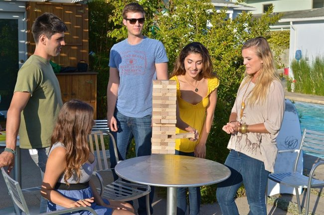 Jenga Giant is the perfect party game