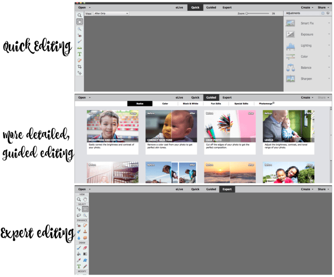 Adobe Photoshop Elements makes photo editing easier with so many options