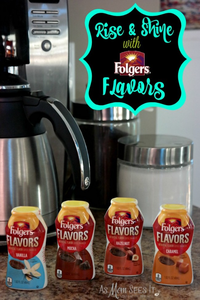 Rise & Shine With Folgers Flavors