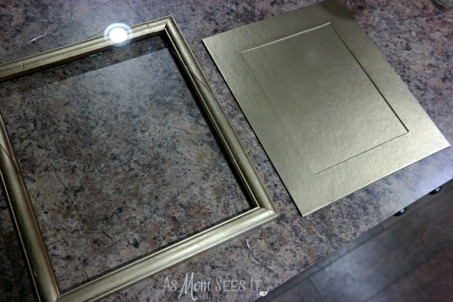 Picture frame upcycle