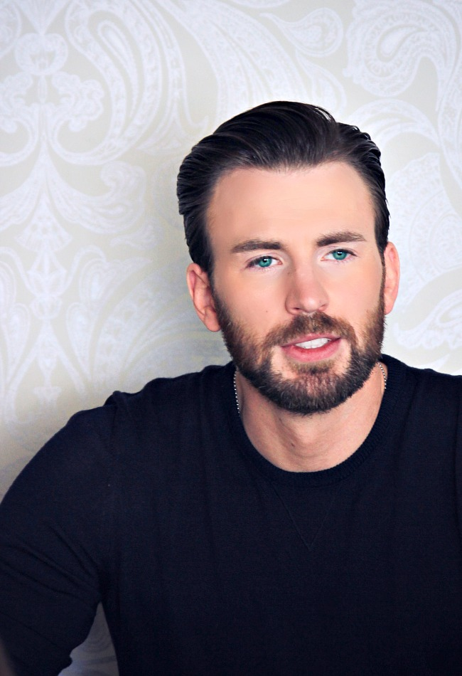 Chris Evans talks about putting on the Captain America suit