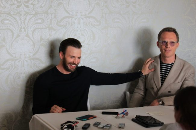 The day Chris Evans ruined my life and my chance at Paul Bettany