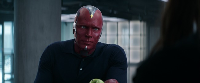 Paul Bettany talks about being Vision