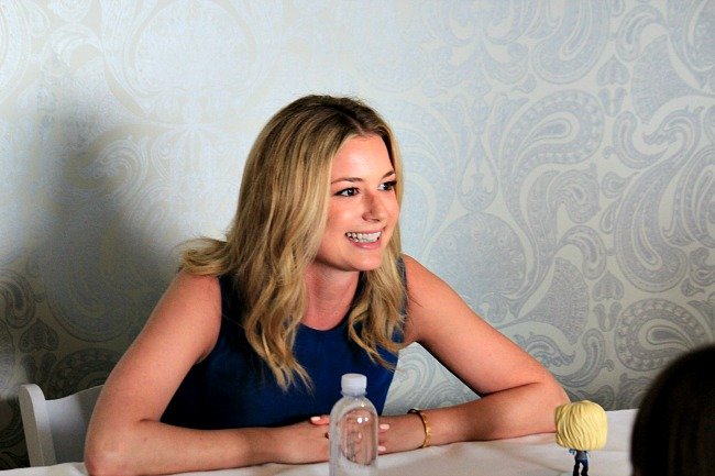 Emily VanCamp talks about being a role model