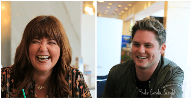 Marry Hollis Inboden and Matt Shively of ABC's The Real O'Neals
