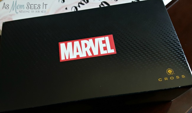 The new Marvel pens from Cross pens will be a hit this Father's Day